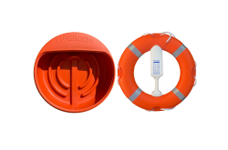 Lifebuoy, Housing / Cabinet and Throwing Line  -  Complete Budget Range Lifebuoy Set with Lifering, House and Line