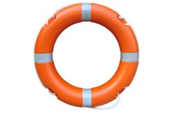 Lifebuoy 30 inch 4Kg  -  75cm  - Reflective Tape SOLAS & MED Compliant / Approved - For use with Smoke & Light signal - High Quality Life buoys - Life Rings