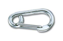 Winch Hook - St/St, to suit 6-10mm wire rope